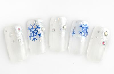 2012冬ジェルネイルデザイン2